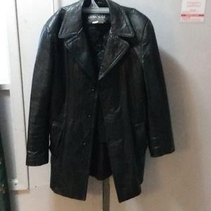 Cosa nova leather jacket